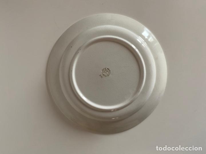 Antigüedades: 6 platos de San Claudio - Foto 9 - 194108738