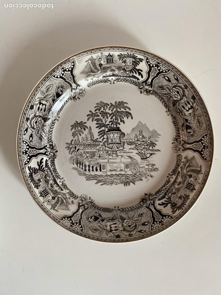 Antigüedades: 6 platos de San Claudio - Foto 10 - 194108738
