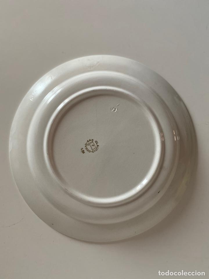 Antigüedades: 6 platos de San Claudio - Foto 11 - 194108738