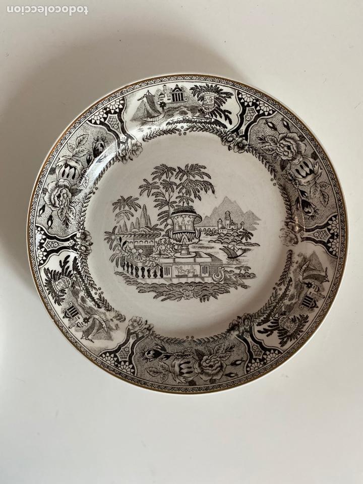 Antigüedades: 6 platos de San Claudio - Foto 12 - 194108738