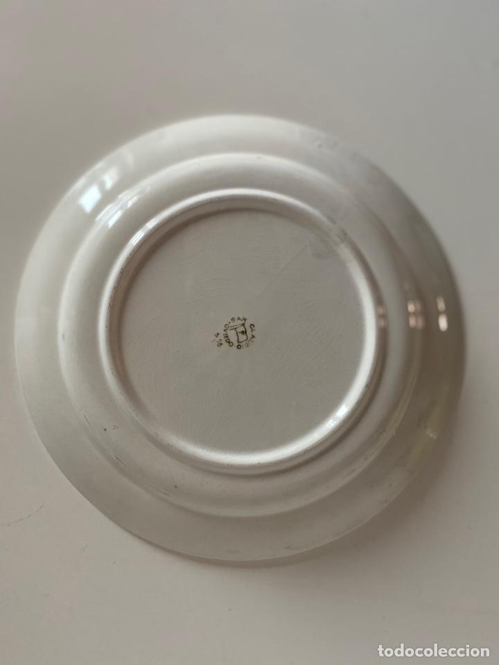 Antigüedades: 6 platos de San Claudio - Foto 13 - 194108738