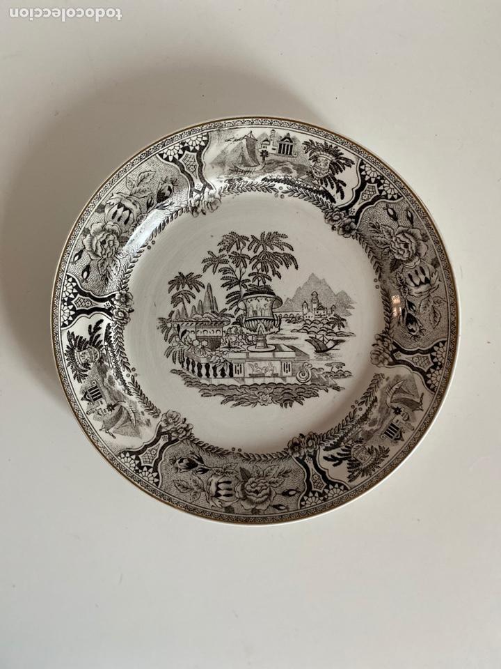 Antigüedades: 6 platos de San Claudio - Foto 14 - 194108738