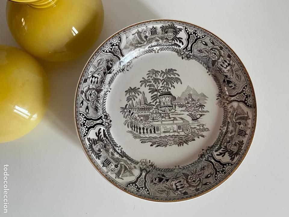 6 PLATOS DE SAN CLAUDIO (Antigüedades - Porcelanas y Cerámicas - San Claudio)