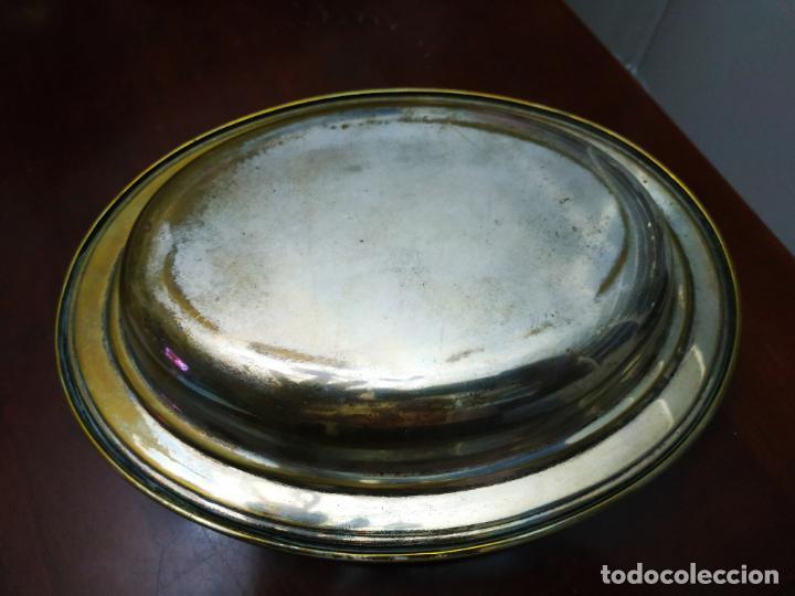 Antigüedades: Fuente 2 piezas ovalada superponibles - Foto 3 - 194109096