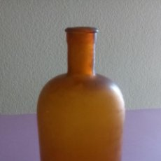 Antigüedades: ANTIGUA BOTELLA FARMACIA - 22 X 8.5 X 3 CMS. Lote 194109871