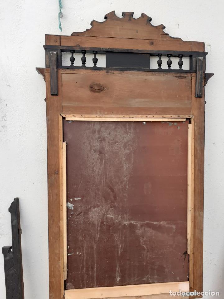 Antigüedades: espejo - Foto 4 - 194112720