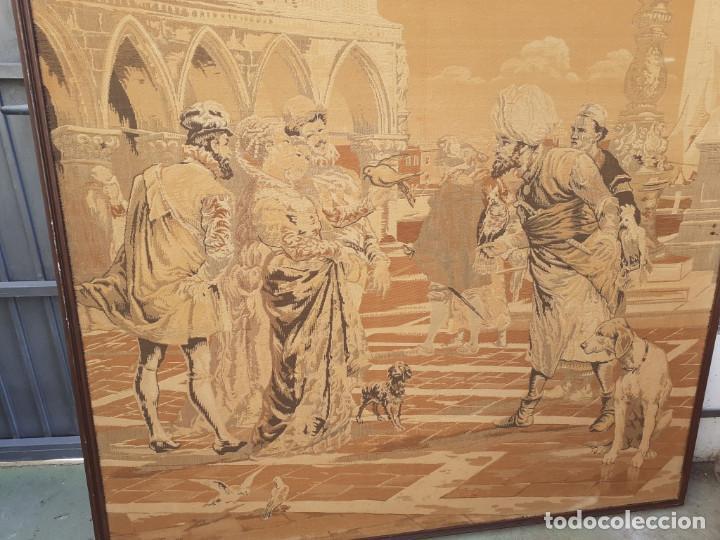 Antigüedades: tapiz grande - Foto 2 - 209646836