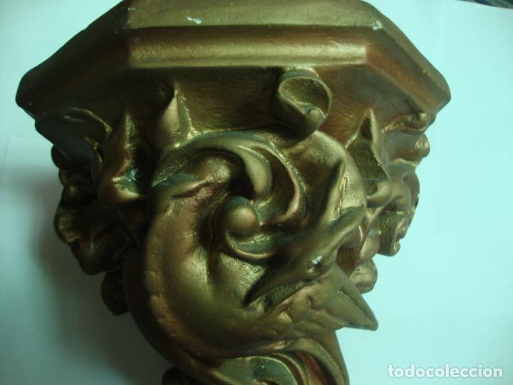 Antigüedades: MENSULA DE ESCAYOLA - Foto 2 - 194117470