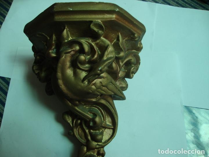 Antigüedades: MENSULA DE ESCAYOLA - Foto 3 - 194117470