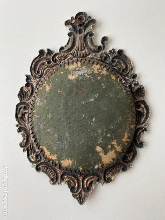 Antigüedades: RELICARIO DEL XIX , GRAN TAMAÑO 24 X 17 CM. CRISTO DE PASION , AMARGURA , VIRGEN DE LOS REYES - Foto 2 - 194120483