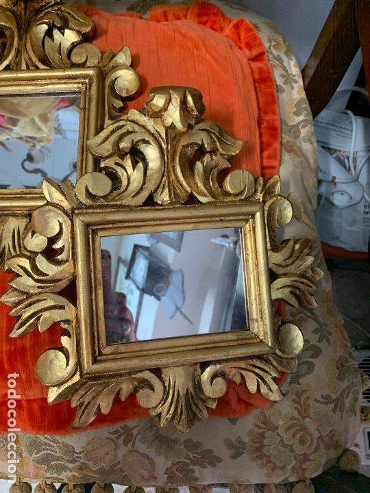 Antigüedades: Pareja de Cornocopias en madera - Foto 3 - 194128140