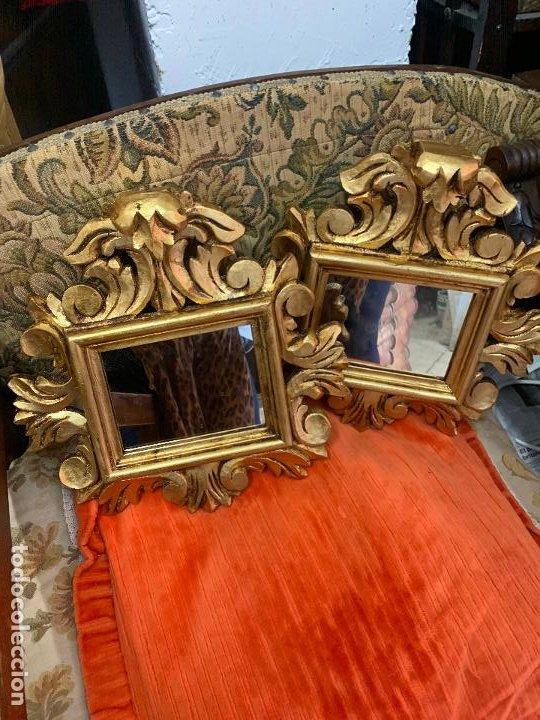 Antigüedades: Pareja de Cornocopias en madera - Foto 4 - 194128140