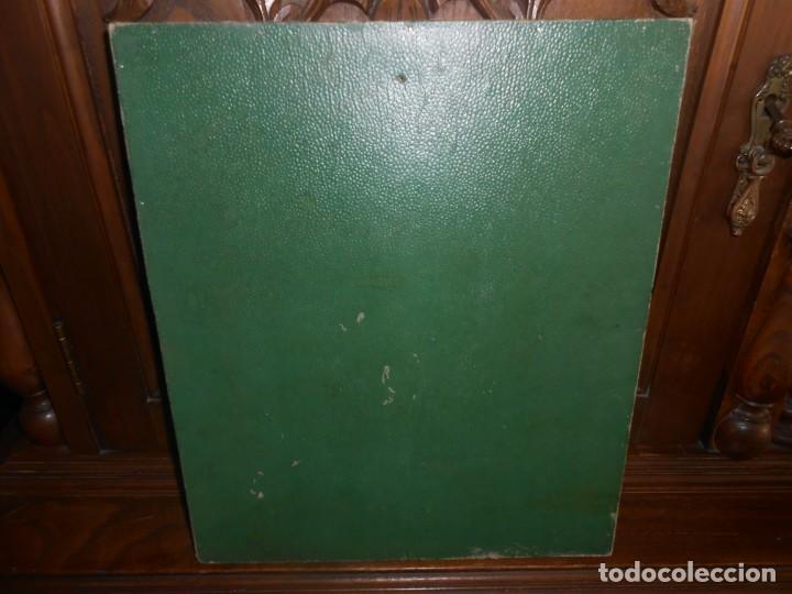 Antigüedades: CRUZ DE PLATA EN MARCO DE MADERA PAN DE ORO - Foto 4 - 194129381