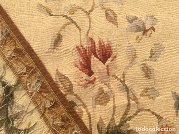 Antigüedades: Alfombra francesa o tapiz Aubusson (297x183) - Foto 3 - 194129453