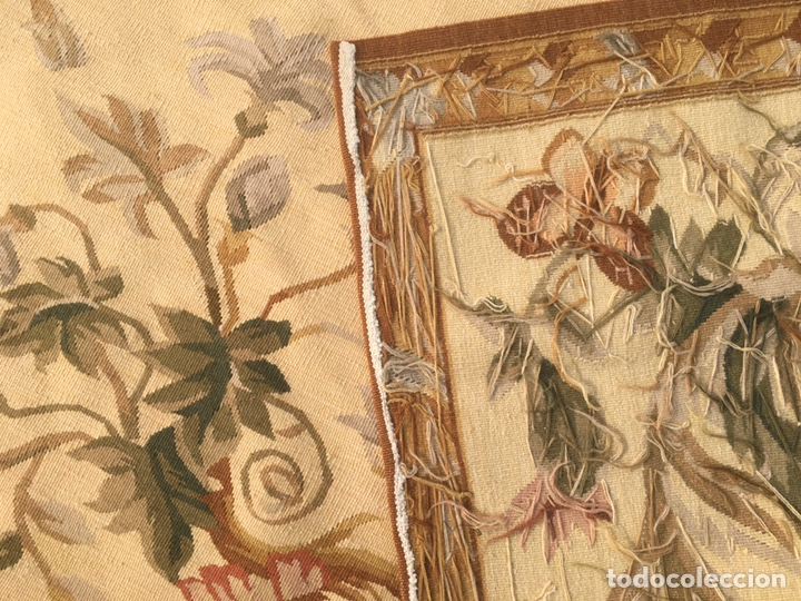 Antigüedades: Alfombra francesa o tapiz Aubusson (297x183) - Foto 4 - 194129453