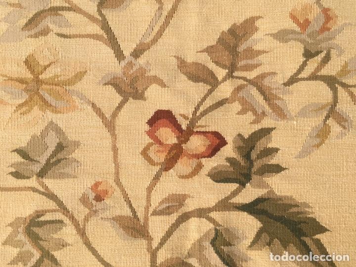 Antigüedades: Alfombra francesa o tapiz Aubusson (297x183) - Foto 7 - 194129453