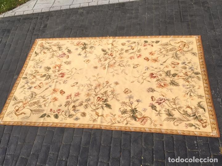 Antigüedades: Alfombra francesa o tapiz Aubusson (297x183) - Foto 10 - 194129453