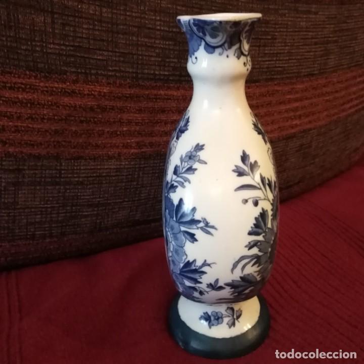 Antigüedades: Antigua Jarra de porcelana holandesa de Delft del siglo xix - Foto 10 - 194132108