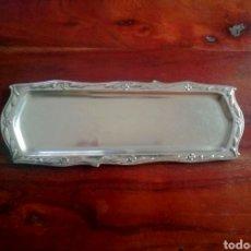 Antigüedades: BANDEJA DE ALPACA. Lote 183783658
