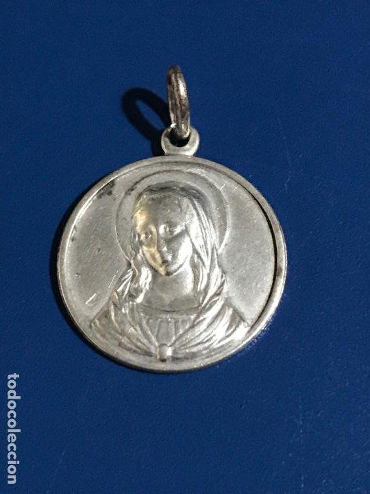 Antigüedades: Medalla Virgen - Foto 4 - 194141143