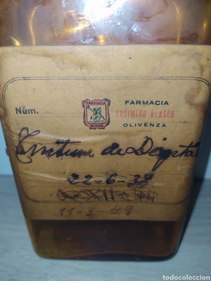 Antigüedades: Antiguo frasco de farmacia - Foto 2 - 194154645