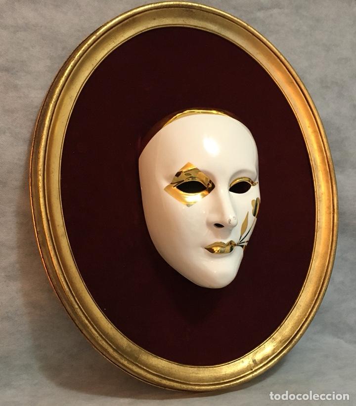 Antigüedades: RACACER, Máscara Veneciana Racacer - Foto 2 - 194156633