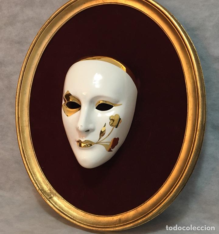 Antigüedades: RACACER, Máscara Veneciana Racacer - Foto 3 - 194156633