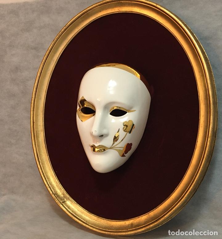 Antigüedades: RACACER, Máscara Veneciana Racacer - Foto 4 - 194156633