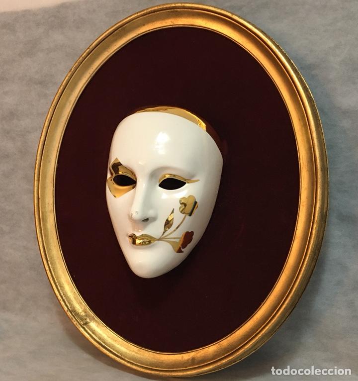 Antigüedades: RACACER, Máscara Veneciana Racacer - Foto 5 - 194156633