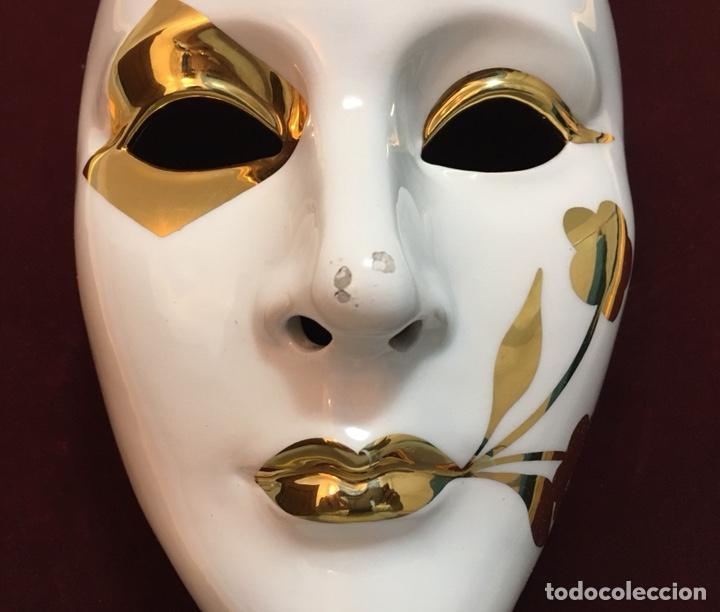 Antigüedades: RACACER, Máscara Veneciana Racacer - Foto 7 - 194156633