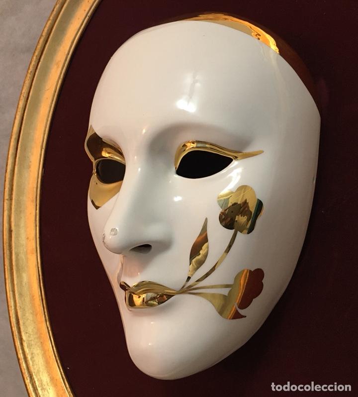 Antigüedades: RACACER, Máscara Veneciana Racacer - Foto 8 - 194156633