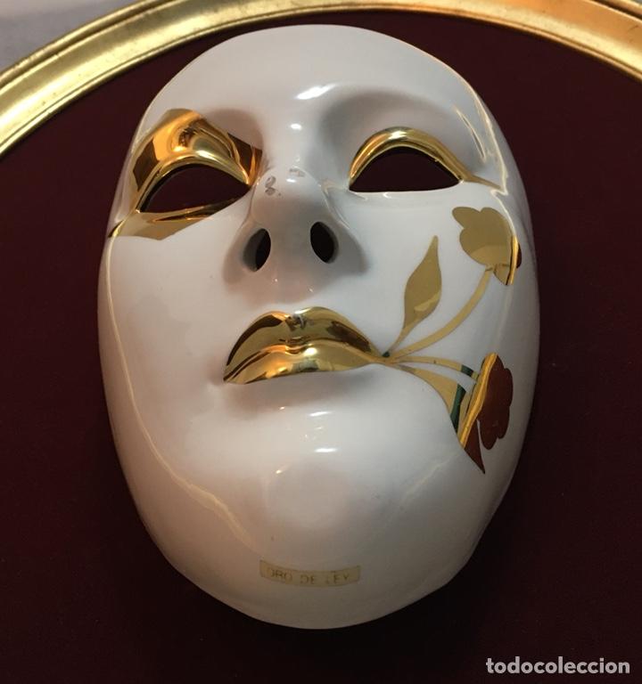 Antigüedades: RACACER, Máscara Veneciana Racacer - Foto 10 - 194156633