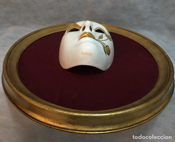 Antigüedades: RACACER, Máscara Veneciana Racacer - Foto 13 - 194156633