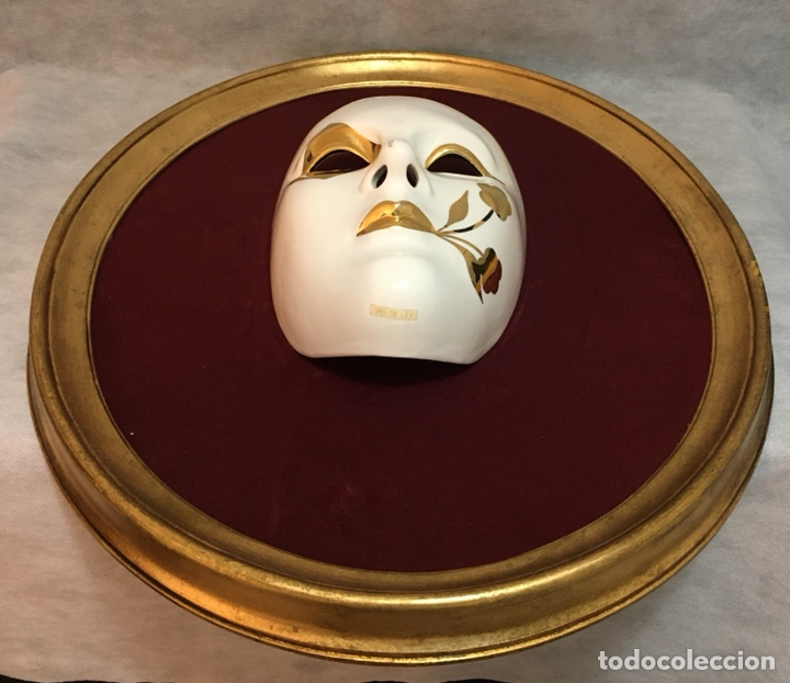Antigüedades: RACACER, Máscara Veneciana Racacer - Foto 14 - 194156633