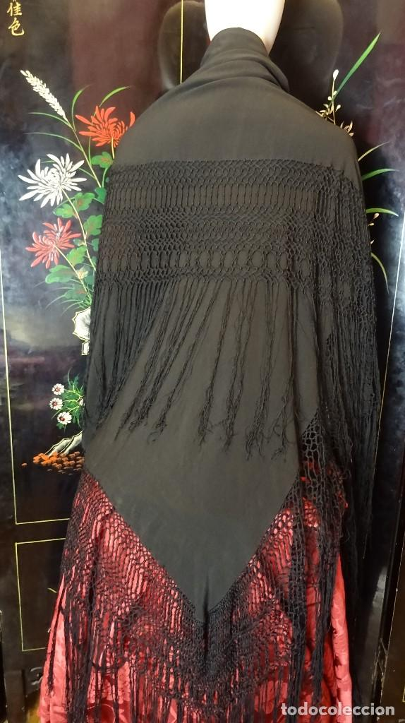 MANTON ANTIGUO (Antigüedades - Moda - Mantones Antiguos)
