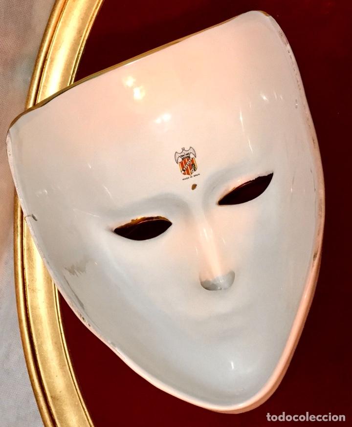 Antigüedades: RACACER, Máscara Veneciana Racacer - Foto 15 - 194156633