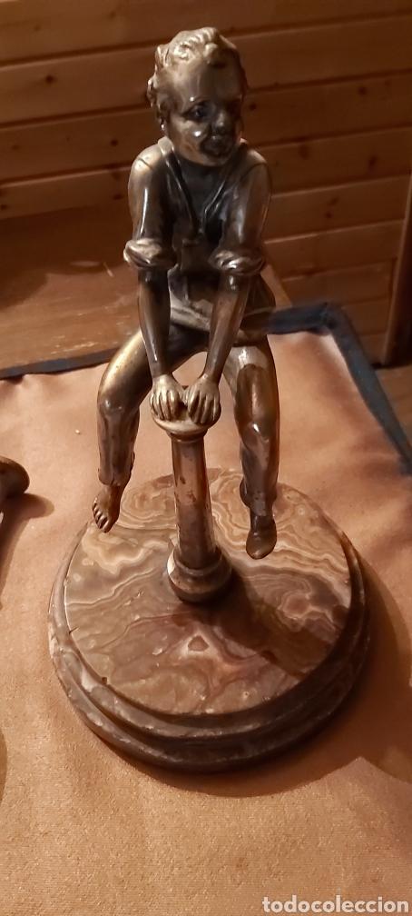 Antigüedades: Mortero bronce sigloviiiconpleto - Foto 4 - 194166718