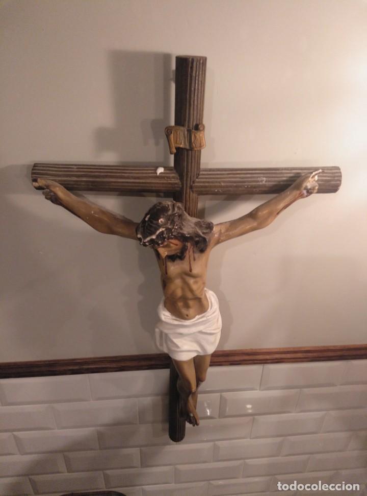 Antigüedades: Cristo crucificado - Foto 3 - 194188378