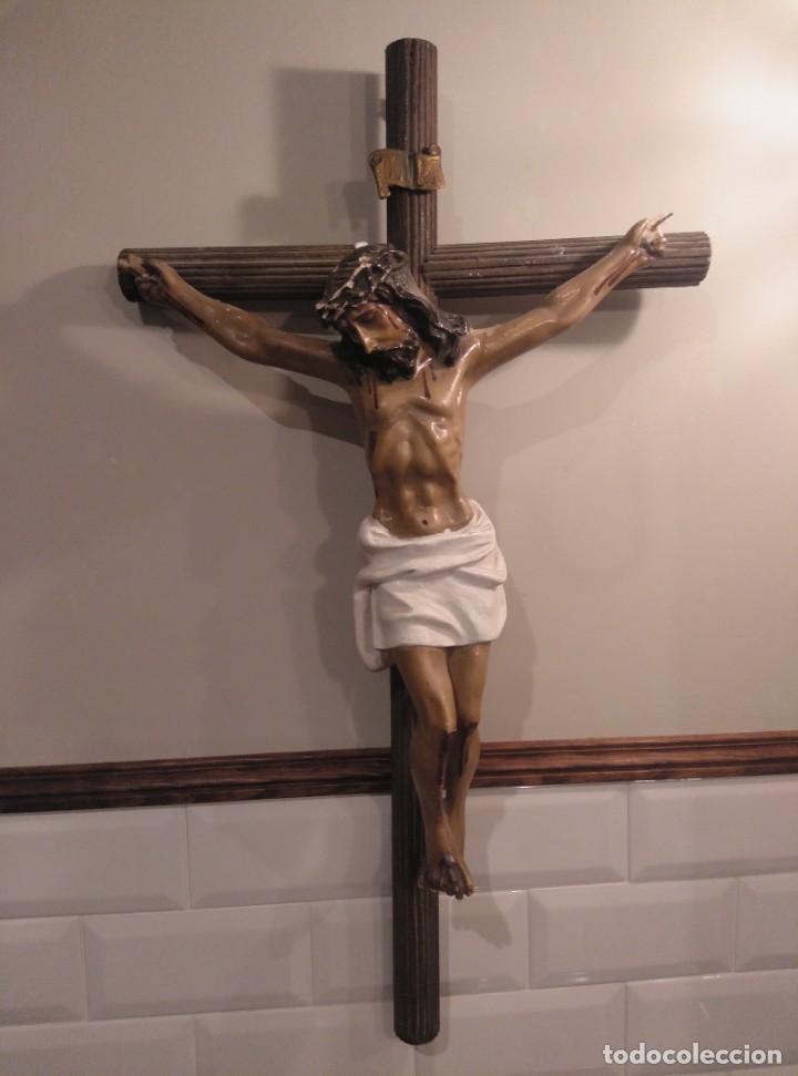 Antigüedades: Cristo crucificado - Foto 5 - 194188378