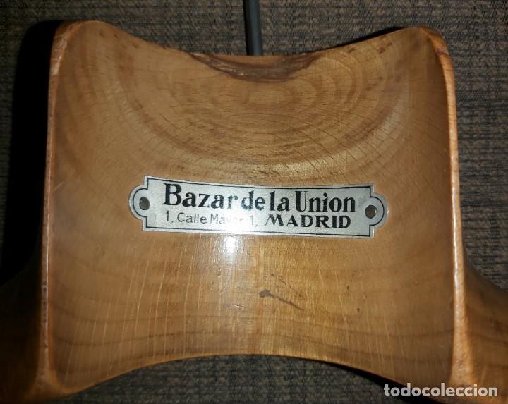 Antigüedades: PERCHAS 02 GRAN BAZAR DE LA UNION PUERTA DEL SOL MADRID - Foto 2 - 194188600