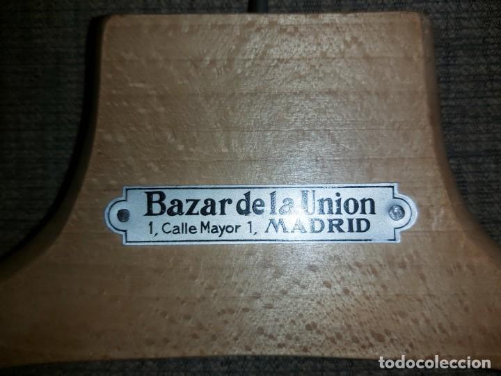 Antigüedades: PERCHAS 02 GRAN BAZAR DE LA UNION PUERTA DEL SOL MADRID - Foto 3 - 194188600