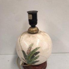 Antigüedades: ANTIGUA LAMPARA DE PORCELANA. Lote 194191162