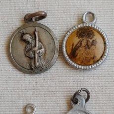 Antigüedades: 4 MEDALLAS ANTIGUAS. Lote 194191875