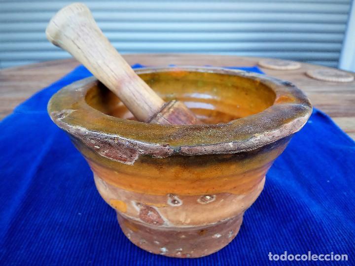 MORTERO DE MIRAVET (TARRAGONA) (Antigüedades - Porcelanas y Cerámicas - Catalana)