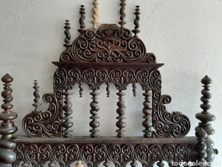 Antigüedades: CAMA MAYORQUINA - Foto 3 - 194195115