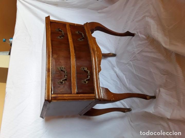 Antigüedades: Mesilla de noche antigua - Foto 4 - 194195848