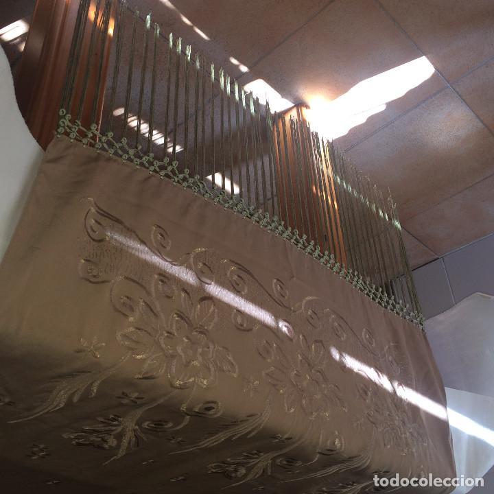 Antigüedades: ELEGANTE CHAL DE MUJER PARA FIESTA - AÑOS 30/40 - EXCELENTE CALIDAD - Medidas 190 x 70 cms. - Foto 14 - 194199795