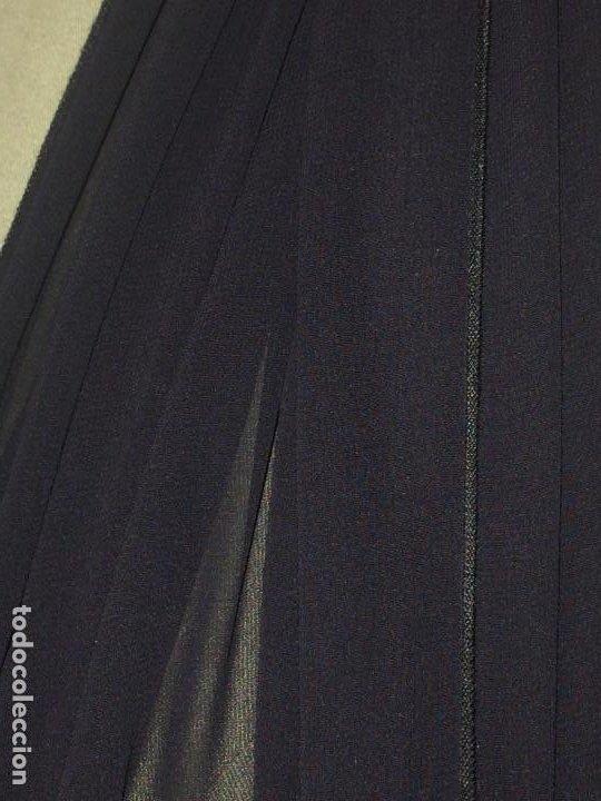 Antigüedades: ELEGANTE CHAL DE MUJER PARA CEREMONIA - AÑOS 30/40 - EXCELENTE CALIDAD - Medidas 190 x 70 cms. - Foto 7 - 194199886