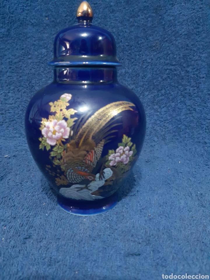 JARRÓN DE PORCELANA JAPONÉS SATSUMA (Antigüedades - Porcelana y Cerámica - Japón)