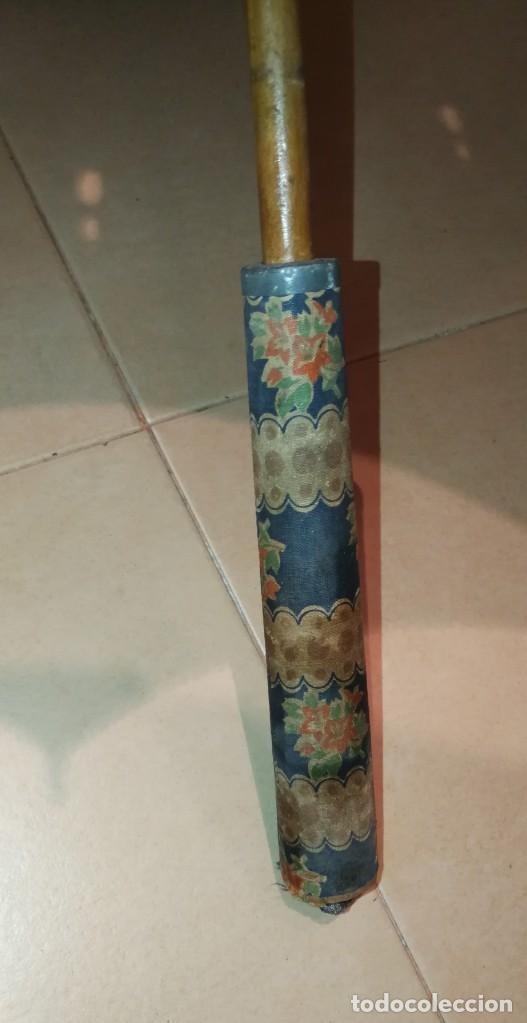 Antigüedades: Antigua sombrilla para restaurar. - Foto 11 - 194207371